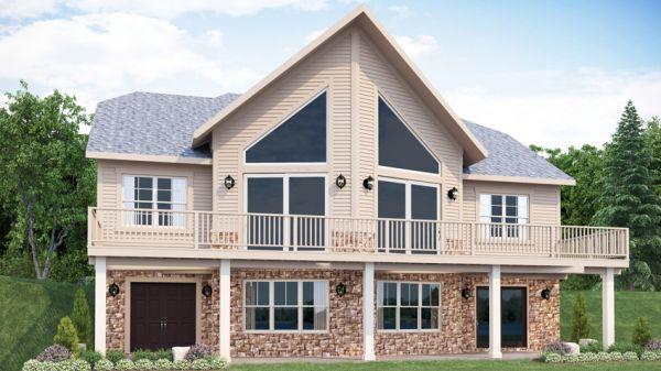 Red Lake Home Floor Plan