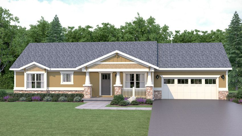Hickory Home Floor Plan
